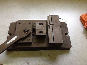 Quick Release Milling Machine Drill Press Cam Lever Vise 6 Wide 1 5 Opening