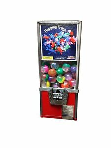 25 Bulk Capsule bouncy Ball Bulk Vending Machine 50 Cent Vend Tower Red