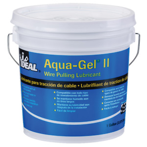 Ideal 31 371 Aqua gel Ii Cable Pulling Lubricant 1 gallon Bucket