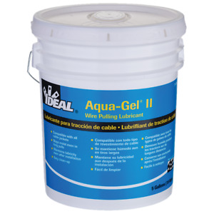 Ideal 31 375 Aqua gel Ii Cable Pulling Lubricant 5 gallon Bucket