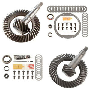 3 42 Ring And Pinion Gears Install Kit Package Gm 8 25 Ifs Front 8 6 Rear