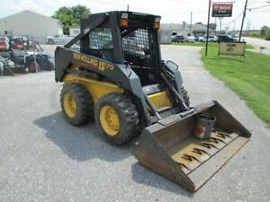 2003 New Holland Ls170 Skid Steer Loader 626 Hours 52 Hp Shed Kept 1 Owner