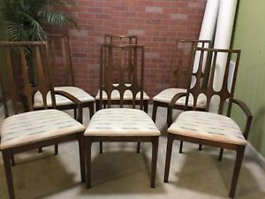 Mid Century Broyhill Brasilia Dining Chairs