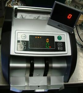 Cash money bill Counter External Display Supports New Us 100 Bc 2100 Uv Detect