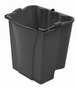 Rubbermaid Commercial Executive Series Dirty Water Bucket Gray 1863900
