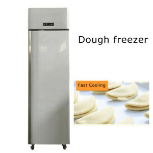Single Door Stainless Steel Commercial Reach in Freezer 110v Pizza Freezer