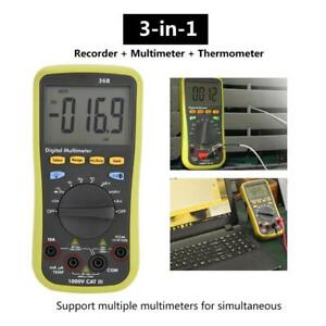 Lcd Digital Multimeter Backlight Thermodetector Multi Tester For Ios Android Gm