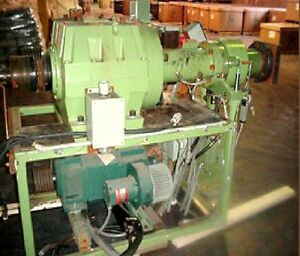 Used 2 5 Nrm Style Cold Feed Rubber Extruder