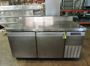 Continental Crb67 bs Commercial Worktop Refrigerator
