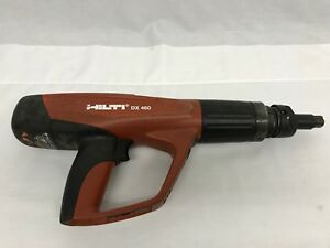 Hilti Powder Actuated Fastening Tool Dx460