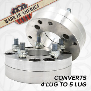 2pc 4x130 To 5x120 Wheel Adapters 1 75 Spacers Usa Porsche 914 Vw B