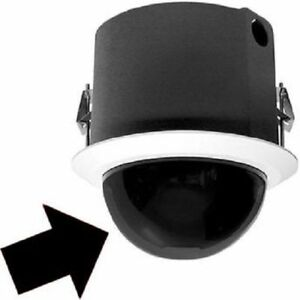 Pelco Ld5f 0 Flush Mount in ceiling Smoked Dome For Spectra Iii iv new open Box