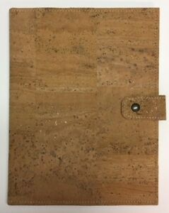 cool Snap close Folder With Cork Board Cover 8 5 X 11