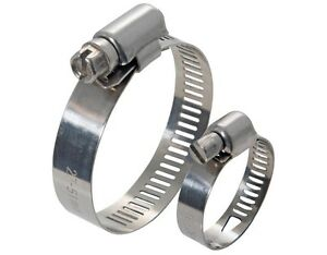 Stainless Steel Hose Clamp 20mm X 100 American Design 12 20mm