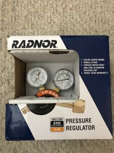 Radnor Single Stage G350 High Capacity Lp Gas Pressure Regulator