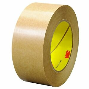 465 Adhesive Transfer Tape 2 In X 60 Yd Clear pack Of 6