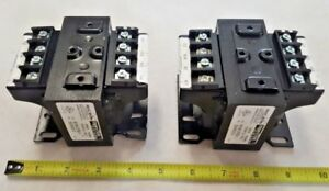 2 Qty Of Micron Control B100 3792 1 Transformers 100va 115v