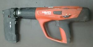 Hilti Dx 460 Powder Actuated Nail Gun With Mx72 Magazine Tested See Pics