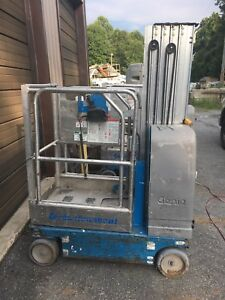 2008 Genie Gr 20 20 Electric Scissor Vertical Mast Drivable Man Lift