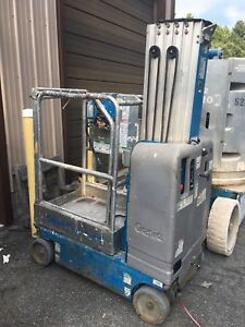 2007 Genie Gr 20 20 Electric Scissor Vertical Mast Drivable Man Lift