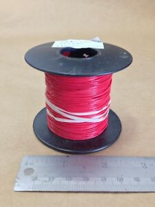 Est 242 Ft 24awg Red Teflon Spc Cable Wire