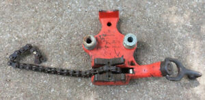 Ridgid Bc 410 Top Screw Bench Chain Pipe Vise 1 8 To 4