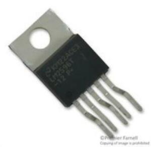 5x Texas Instruments Lm2596t 12 nopb Ic Step down Voltage Regulator To 220