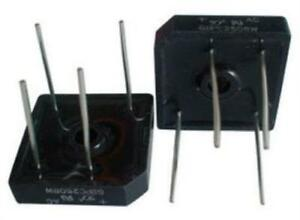 10x Nte Electronics Nte169 Bridge Rectifier Single Phase 2a 600v Though Hole
