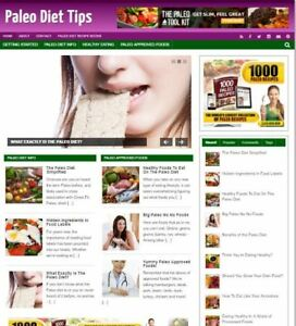 Paleo Diet Tips Website For Sale Make Money With Turnkey Weight Loss Business