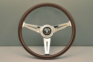Nardi Nd Classic 360mm Wood Polished Steering Wheel 5061 36 3000 In Stock