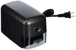 School Smart 84328 Electric Heavy Duty Pencil Sharpener Automatic Perfect Tip