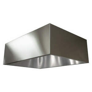 Dayton 430 Stainless Steel Commercial Kitchen Exhaust Hood ss 48 In 20ud07