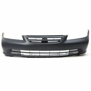 Front Bumper Cover Replacement For 2001 2002 Honda Accord Primed Ho1000196