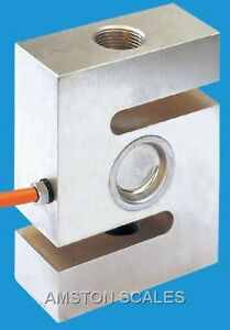 3000 Lb S type Load Cell With Eyebolts Lifting Eye Weight Usa Seller Brand New