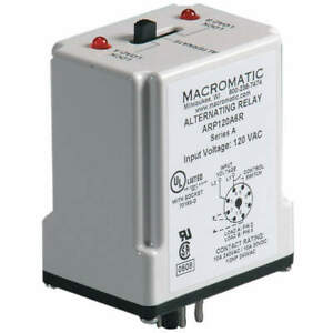 Macromatic Alternating Relay 120vac spdt Arp120a6r