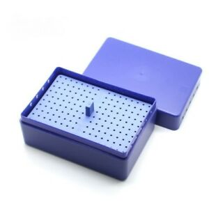 Dental Diamond Burs Endo Box Block Holder Autoclavable Sterilizer Endodontic
