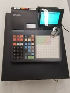 Casio Se c3500 Cash Register Easy Programming Retail With Cash Drawer And Keys