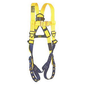 3m Dbi sala Harness Vest Style Front And Back D Ring 1107806 Yellow