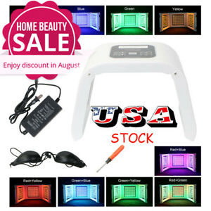 4 Colors Led Phototherapy Skin Rejuvenation And 3 In 1 Dermabrasion Machine