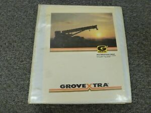 Grove Rt500 Series Rt515 Rt518 Rt520 Rt522 Crane Parts Catalog Manual Book
