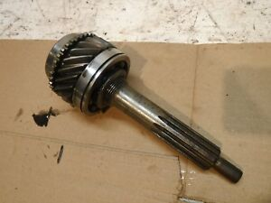 66 69 Muncie 4 Speed Transmission M20 Wide Ratio Input Shaft Gear 21 Tooth Chevy