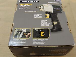 Craftsman Pro Series 1 2 In Compact Impact Wrench 51115