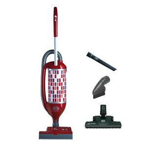 Sebo Felix 1 Premium Upright Vacuum Cleaner rosso red