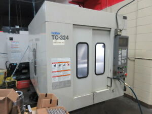 Brother Tc 324 Cnc Drilling And Tapping Center With Auto Pallet Changer