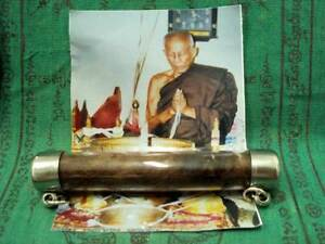 Tiger Takrut Lp Siadum Magic Takrud Strong Power Protection Lucky Thai Amulet