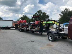 2018 Gator 40ft Hot Shot Air ride Trailer