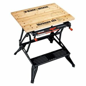 Black & Decker WM425 Workmate Portable Woodworking Bench & Vise