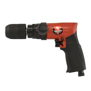 Air Composite Reversible Drill 1 2 Light Weight Pneumatic W Keyless Chuck
