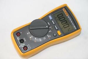 Fluke 115 True Rms Multimeter No Leads