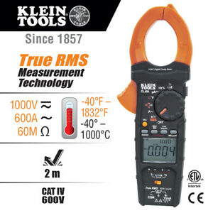 Klein Tools Hvac Clamp Meter W differential Temperature